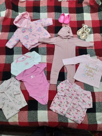 Вещи на девочку 6-10 месяцев