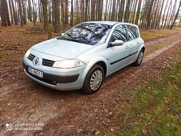 Renault Megane 2 zadbany zarejestrowany 2003r.