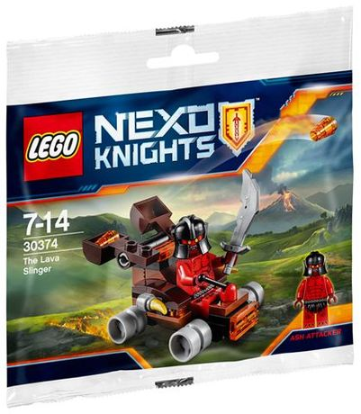 Lego Nexo Knights 30374 The Lava Slinger Nowe !