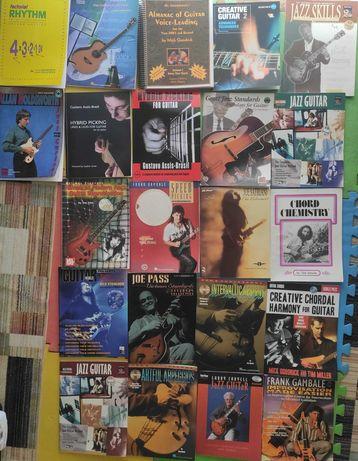 Livros para aprendizagem de guitarra