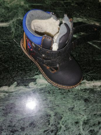 Buty z ociepleniem, chłopiec, roz 24
