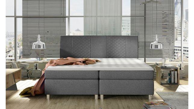 Łóżka do sypialni, Komfort od producenta STYLUX. Komplet z materacami