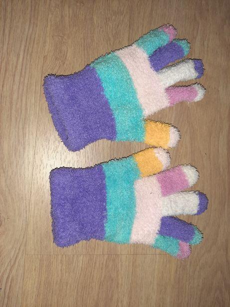 Rękawiczki ciepłe dla dużej dziewczynki