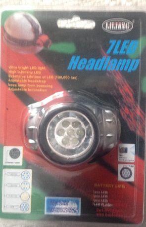 Lanterna de led tipo mineiro