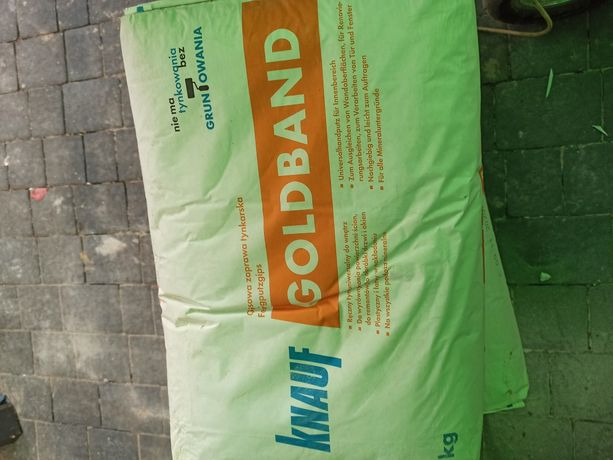 Tynk gipsowy ręczny Knauf Goldband 25kg