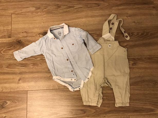 Zestaw koszula coolclub 68 spodenki lupilu 62