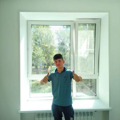 Самые теплые откосы! Недорого и быстро-1000грн окно! Сэндвич, штукатур