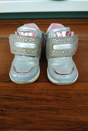 Детские демисезонные ботинки Clibee для девочки, 21 размер