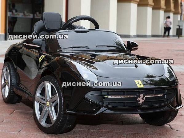 Детский электромобиль 3176 черный, Дитячий електромобiль