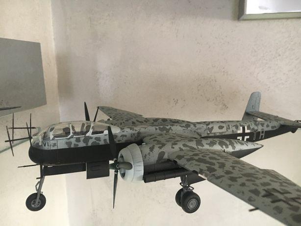 Model samolotu Heinkel he219