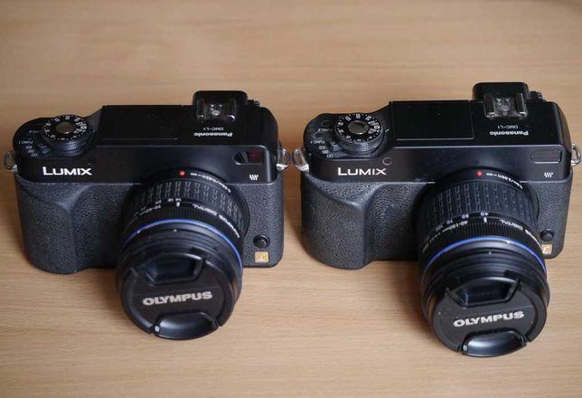 Дешево! Olympus ZD 14-42, ZD 40-150, 2 Panasonic L1 все комплектом