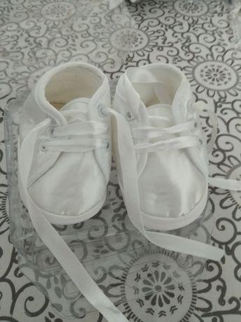Buciki dla dziecka na chrzest