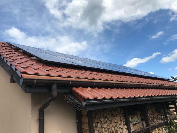Instalacja fotowoltaika fotowoltaiczna na dach skośny