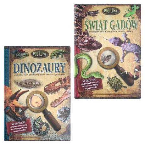 Dinozaury i Świat Gadów pod lupą. Rezerwacja
