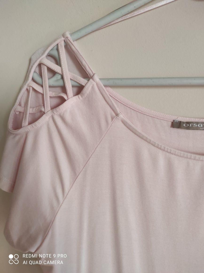 Bluzka damska ,rozowa