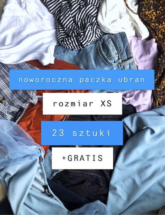 PACZKA UBRAN XS + GRATIS 23 ubrania na nowy rok tanio sukienka jeansy Warszawa - image 1