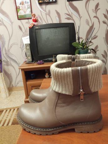 Ботинки полусапожки зимние