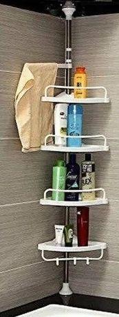 Угловая полка для ванной комнаты металлическая Aidesen Shelf