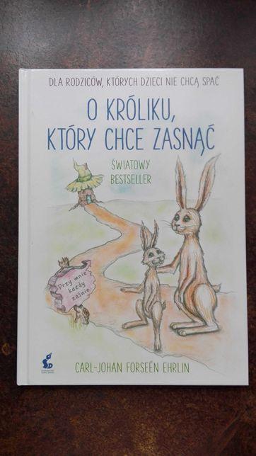 O króliku,który chce zasnąć - książeczka, relaksacyjna