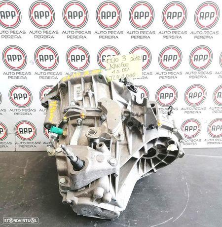 Caixa de 6 velocidades Renault Clio 3 Kangoo 1.5 DCI 110 CV de 2012 referência TL4A000 87 000 kms.