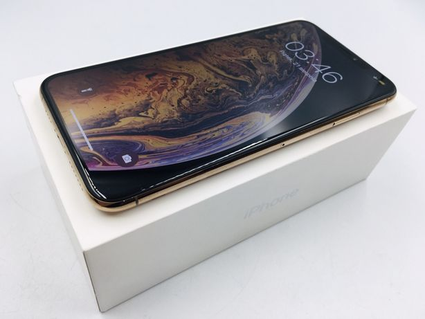 iPhone XS MAX 64GB GOLD • PROMOCJA • GW 1 MSC • AppleCentrum