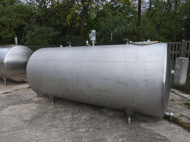 Zbiornik z mieszadłem ze stali kwasoodpornej 4000 l MEKO