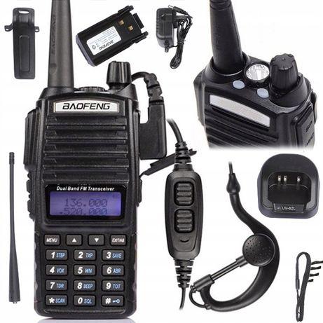 Radiotelefon BAOFENG UV-82HTQ Straż,Policja,Pogotowie Rozblokowany!