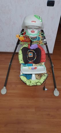Колиска, крісло гойдалка,  кресло качалка, заколисуючий центр.