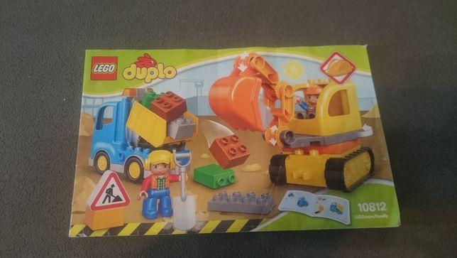 Lego Dupolo 10812 Ciężarówka i Koparka