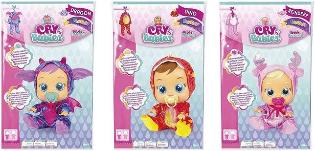 Crying Babies Костюмчики, сменная пижама 3 вида (IMC Toys 93683IM)