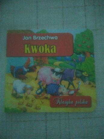 """Książka bajka """"Kwoka"""" Jan Brzechwa"""