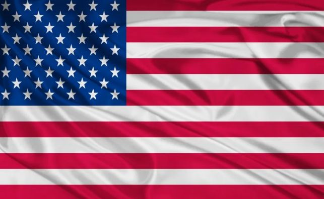 Флаг Америки USA Флаг США размеры 150см/90см большой на флагшток