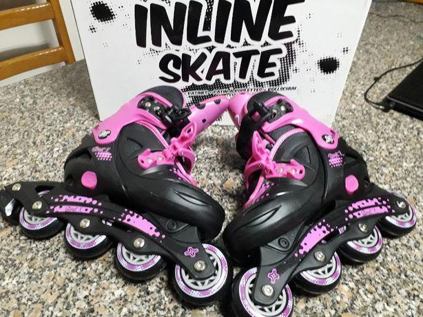 patins em linha (novos)