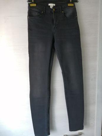 Spodnie jeans H&M r. S