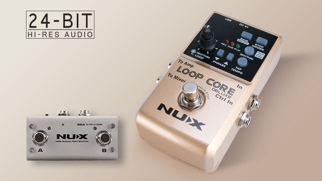 efekt gitarowy Looper NUX LOOP CORE DELUXE + zasilacz
