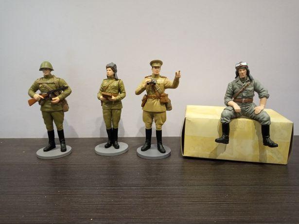 Figurki żołnierzy radzieckich skala ok 1:16 lub 1:18 nowe cena za szt.