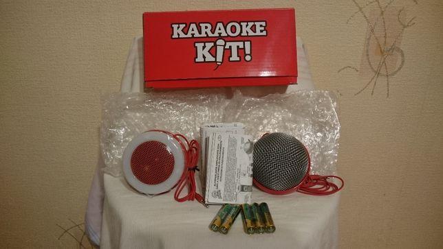 Karaoke kit (mikrofon i głośnik) Pringles