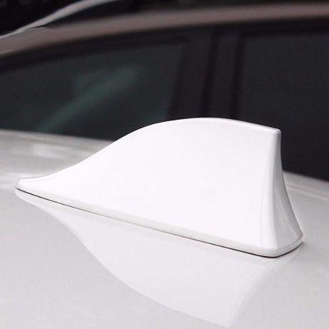 Antenas FM Barbatana Tubarão para o seu carro - Branco