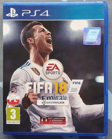 FIFA18 PS4 polska wersja