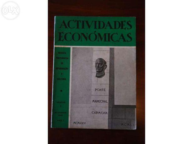 Revista Actividades Economicas anos 50/60