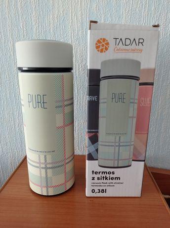 Термос Tadar Польша с ситечком