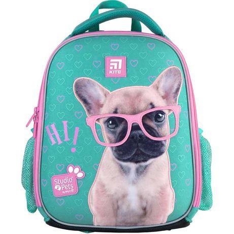 Рюкзак школьный каркасный Kite Studio Pets SP21-555S-1