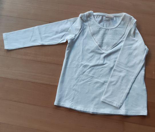 T-shirt manga comprida, tam 6