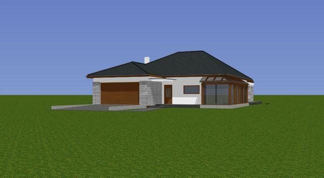 Sprzedam projekt domu parterowego