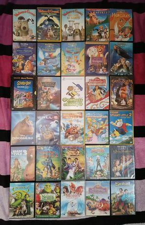 Lote 250 DVD's originais animação (LOTE 38)