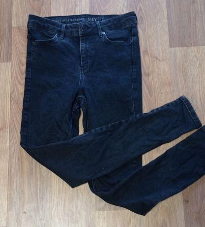 Черные джинсы skinny Oasis с высокой посадкой.