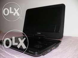 """Przenośny Odtwarzacz DVD Bush 10"""", Różowy Lub Czarny, USB, Karta SD"""