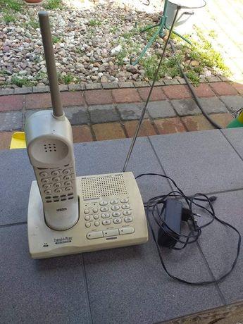 Telefon bezprzewodowy bateria wymieniona
