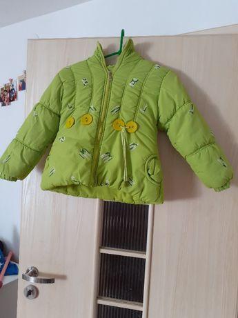 Kurtka zimowa dla dziewczynki rozmiar 116-122''''