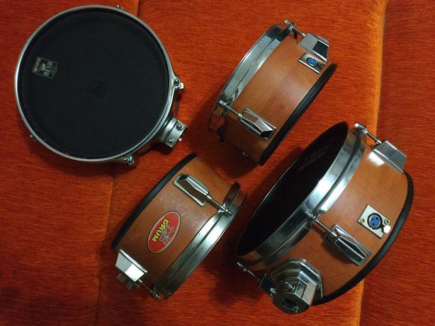 Bębny pady siatkowe 5 szt perkusja elektroniczna